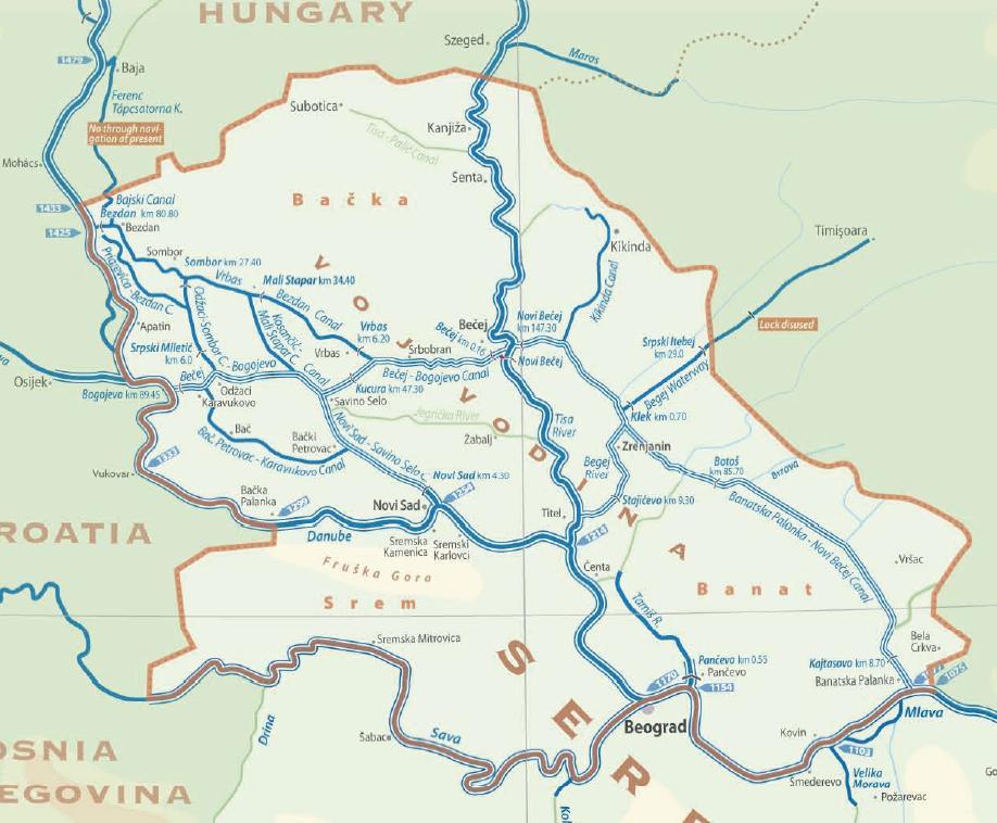 vode vojvodine mapa ŠLAJZ JE NEŠTO NAJVREDNIJE ŠTO BEČEJ IMA! vode vojvodine mapa
